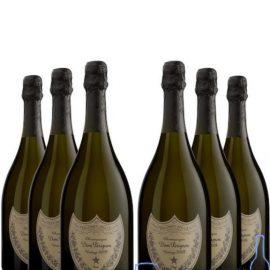 Шампанське Дом Періньон 2009 року в коробці біле сухе, Dom Perignon 2009 gift box 1,5 л.