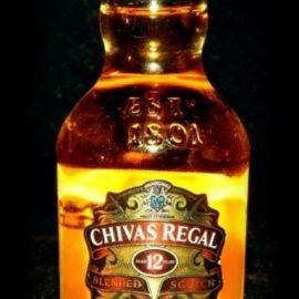 Віскі Чівас Рігал 12-років в подарунковій коробці, Chivas Regal 12 years old with box 0,05 л.