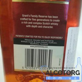 Grant's Family Reserve 1 л. Виски Грант'с Фемили Резерв