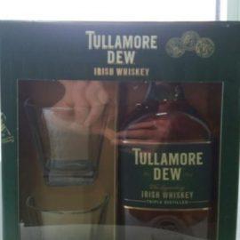 Віскі Талмор Дью Оріджінал + 2 склянки в коробці, Tullamore Dew Original + 2 glasses 0,7 л.