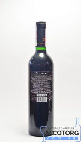 Вино Шато де він напівсолодке червоне Болград 0,75 л.