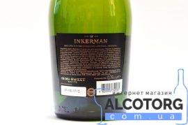 Вино ігристе Інкерман напівсолодке біле, Inkerman 0,75 л.
