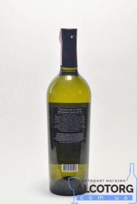 Вино Грузинська історія сухе біле GH 0,75 л.