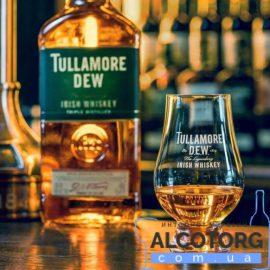 Виски Талламор Дью Оригинал + 1 бокал, Tullamore Dew Original + 1 glasses 0,7 л.
