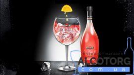 Напій на основі вина Мартіні Рояль Розато рожеве напівсолодке, Martini Royale Rosato 0,75 л.