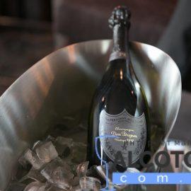 Шампанське Дом Періньон Бланк 1998 в коробці біле сухе, Dom Perignon Blanc 1998 gift box 0,75 л.