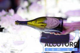 Шампанське Дом Періньон Розе Вінтаж 2005 в коробці рожеве сухе, Dom Perignon Vintage Rose 2005 gift box 0,75 л.