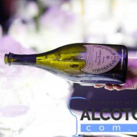 Шампанское Дом Периньон Розе Винтаж 2005 в коробке розовое сухое, Dom Perignon Vintage Rose 2005 gift box 0,75 л.