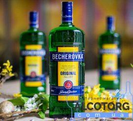 Настойка Бехеровка, Becherovka 1 л.