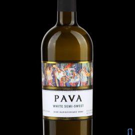 Вино Пава біле напівсолодке, Pava 0,75 л.