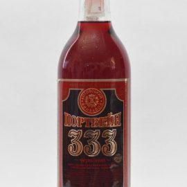 Вино Портвейн 333 червоне міцне Котовськ 0