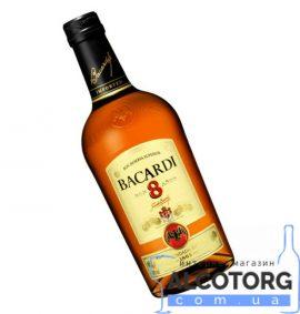Ром Бакарді 8 років, Bacardi 8 years 1 л.
