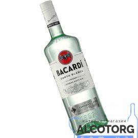 Ром Бакарді Карта Бланка, Bacardi Carta Blanca 1 л.