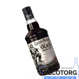 Ром Капітан Морган Спайсд Блек, Captain Morgan Spiced Black 0,7 л.