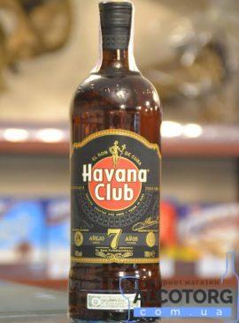 Ром Гавана Клаб Аньєхо 7 років, Havana Club Anejo 7 Anos 1 л.