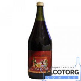 Напій на основі вина Дона Кармен Сангрія червоне, Sangria Dona Carmen 1,5 л.