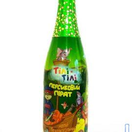 Напиток безалкогольное сокосодержащий сильногазированный Персиковый Пират Тили тили 0,75 л.
