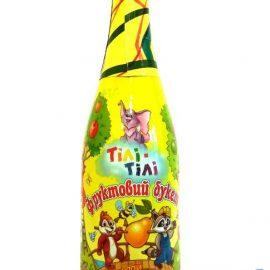 Напиток безалкогольный сокосодержащий сильногазированный Фруктовый букет Тили тили 0,75 л.