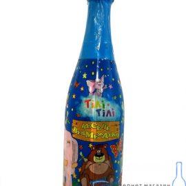 Напиток безалкогольный сокосержащий сильногазированный Веселый Медвежонок Тили тили 0,75 л.