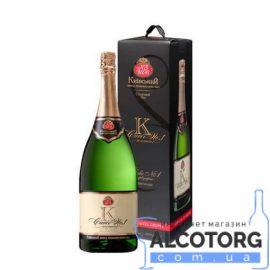 Вино ігристе Кюве напівсолодке біле, Cuvee №1 1,5 л.