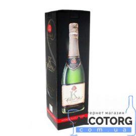 Cuvee №1 3 Л. Вино Игристое Кюве Полусладкое белое