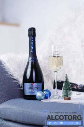Шампанское Коблево белое брют, Koblevo Brut 0,75 л.