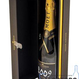 Шампанське Моєт Шандон Брют Вінтаж 2009 в коробці біле сухе