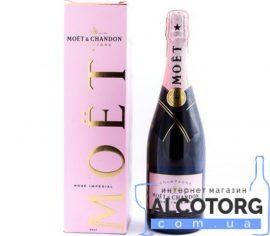 Шампанське Моєт Шандон Розе Імперіал рожеве сухе