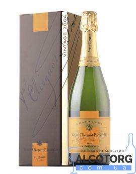 Шампанське Вдова Кліко Брют Вінтаж в коробці