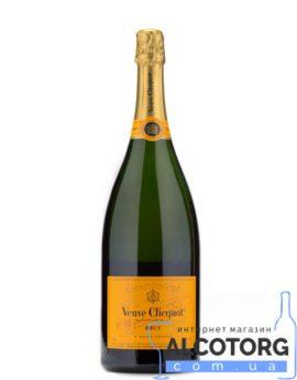 Шампанское Вдова Клико Брют в коробке, Veuve Clicquot Brut with gift box 1,5 л.