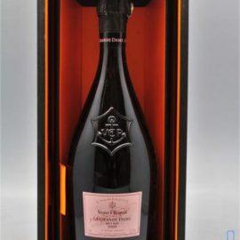 Шампанське Вдова Кліко Ла Гранд Дам Розе в коробці рожеве сухе, Veuve Clicquot Ponsandin La Grande Dame Rose 2004 0,75 л.