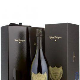Шампанське Дом Періньон Вінтаж Блан 2009 року у подарунковій коробці біле сухе, Dom Perignon Vintage Blanc 2009 gift box 0,75 л.