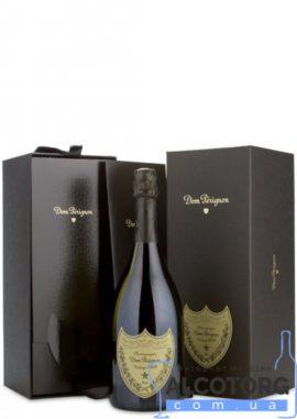 Шампанське Дом Періньон 2009 року у подарунковій коробці біле сухе