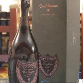 Шампанське Дом Періньон Розе 2005 в коробці рожеве сухе, Dom Perignon Rose 2005 gift box 1,5 л.
