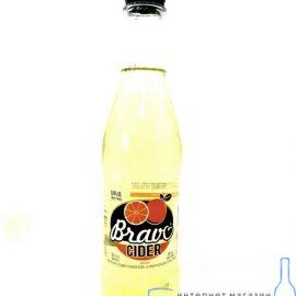 Сідр Bravo Апельсин Bravo 0,5 л.