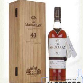 Віскі Макалан Шеррі Оак 40 років, Macallan Sherry OAK 40 years old 0,7 л.