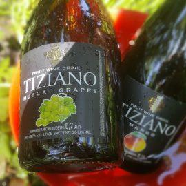 Ігристий Винний Напій Тіціано Мускат Біле Напівсолодке, Tiziano Sparkling Muscat Grapes 0,75 Л.