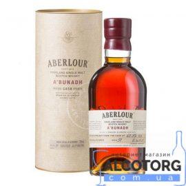 Віскі Аберлауер А'бунадх в коробці, Aberlour A'bunadh 0,7 л.