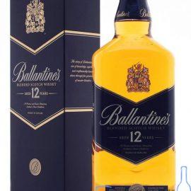 Віскі Баллантайнс 12 років в коробці, Ballantine's 12 Years 0,7 л.
