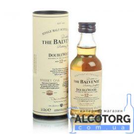 Віскі Балвені Даблвуд 12 років, Balvenie Doublewood 12 years 0,05 л.