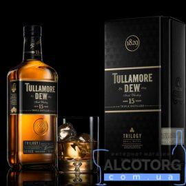 Віскі Талламор Дью Трілоджи 15 років витримки, Tullamore Dew Trilogy 15 years old 0,7 л.