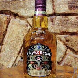 Віскі Чівас Рігал 12 років в подарунковій коробці, Chivas Regal 12 years old with box 1 л.
