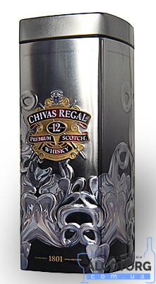 Віскі Чівас Рігал 12-років в металевій коробці, Chivas Regal 12 years old with box 0,7 л.