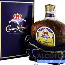 Виски Кроун Роял в коробке, Crown Royal 0,75 л.