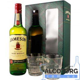 Виски Джемесон + 2 бокала, Jameson +2 glasses 0,7 л.