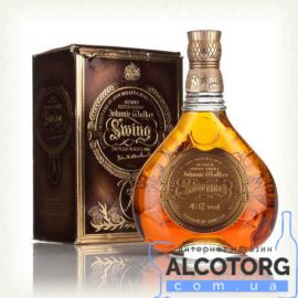 Віскі Джонні Уокер Свінг в коробці, Johnnie Walker Swing gift box 0,75 л.