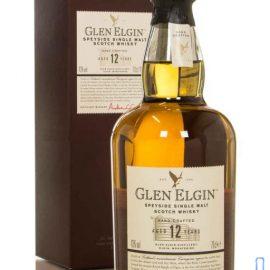 Віскі Глен Елгін Молт 12 років в коробці, Glen Elgin Malt 12 years old with box 0,75 л.