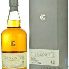 Віскі Гленкінчі 12-річний в коробці, Glenkinchie Malt 12 years old with box 0,7 л.