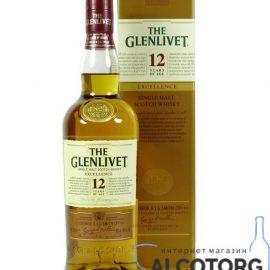 Віскі Гленлівет 12 років Екселленс, The Glenlivet 12 Years Old Excellence 0,7 л.