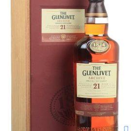 Віскі Гленлівет 21-рік в декорованій коробці, The Glenlivet 21 Years Old 0,7 л.